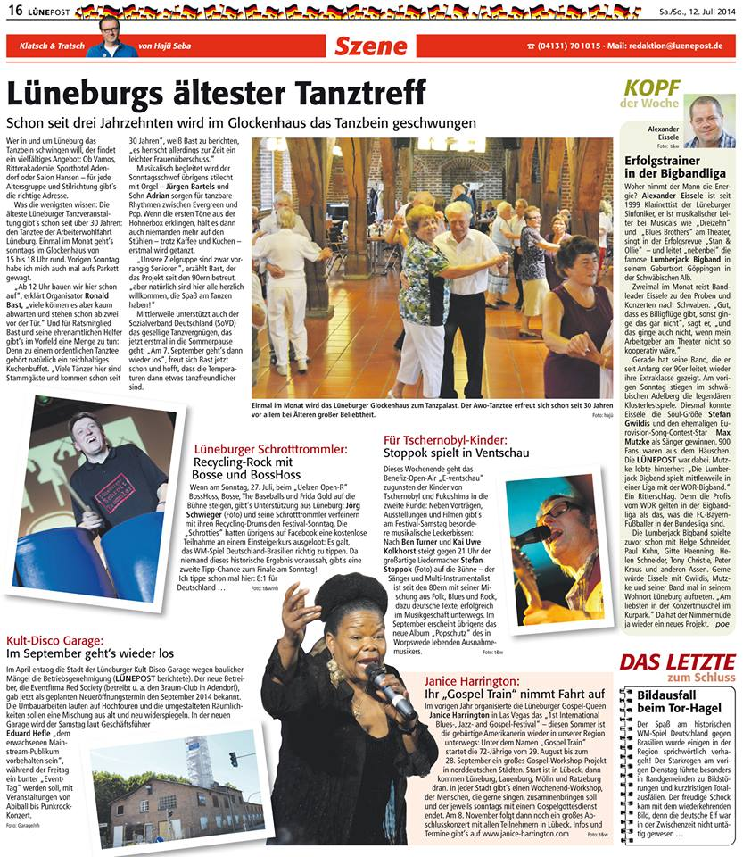 e-Ventschau Lünepost 12.07.14