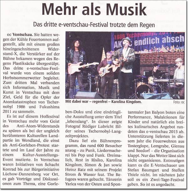 e-Ventschau Landeszeitung 07.09.2015