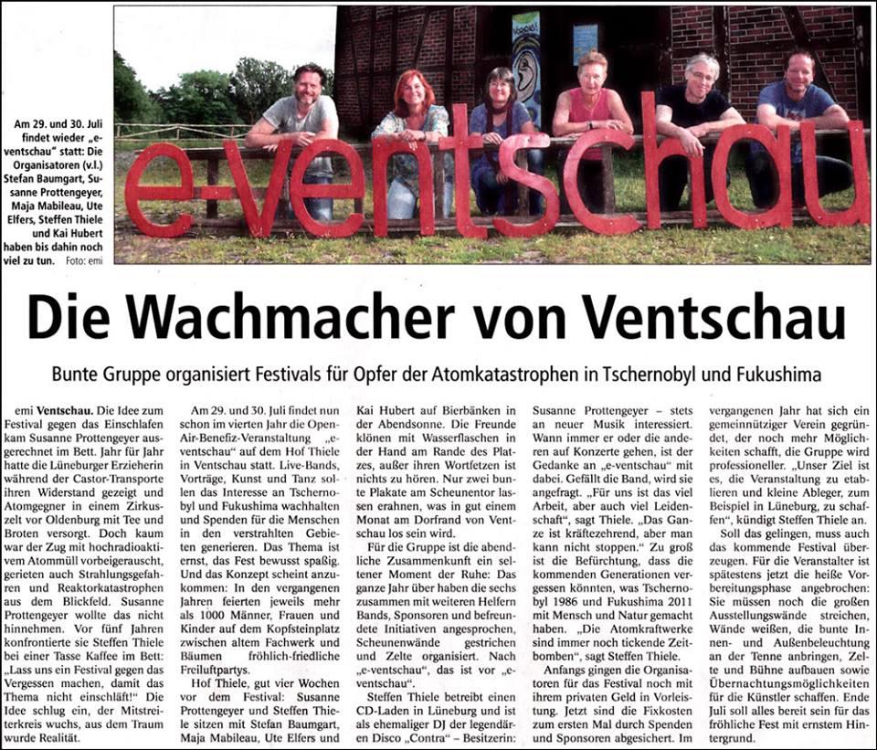 e-Ventschau Landeszeitung 25.06.2016