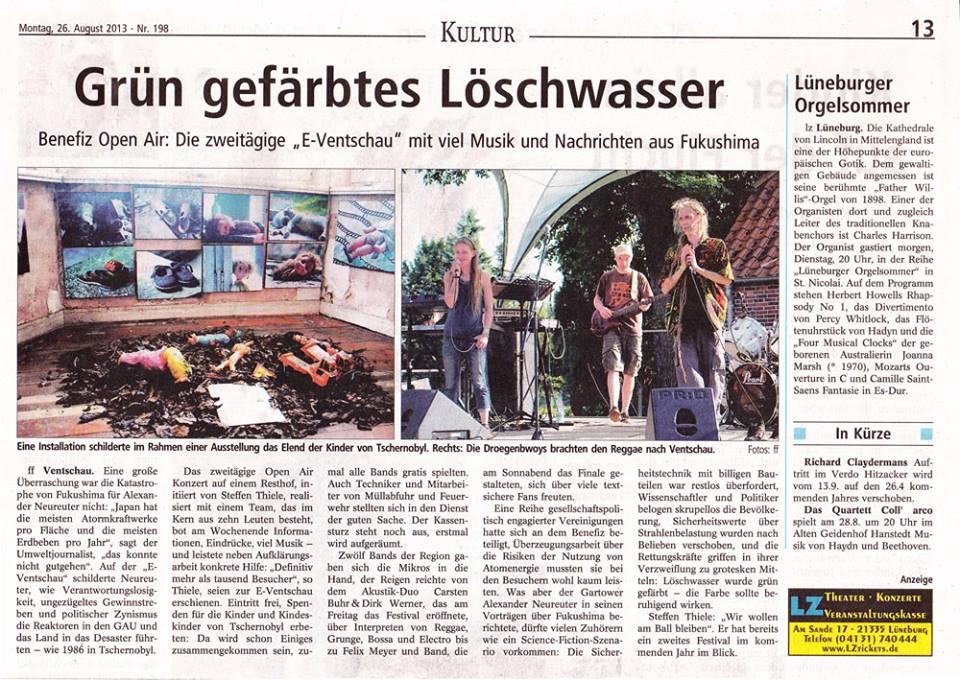 e-Ventschau Landeszeitung 26.08.13
