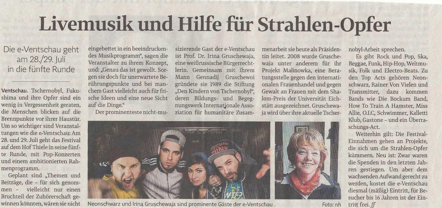 Landeszeitung, Mo 1.8.2016